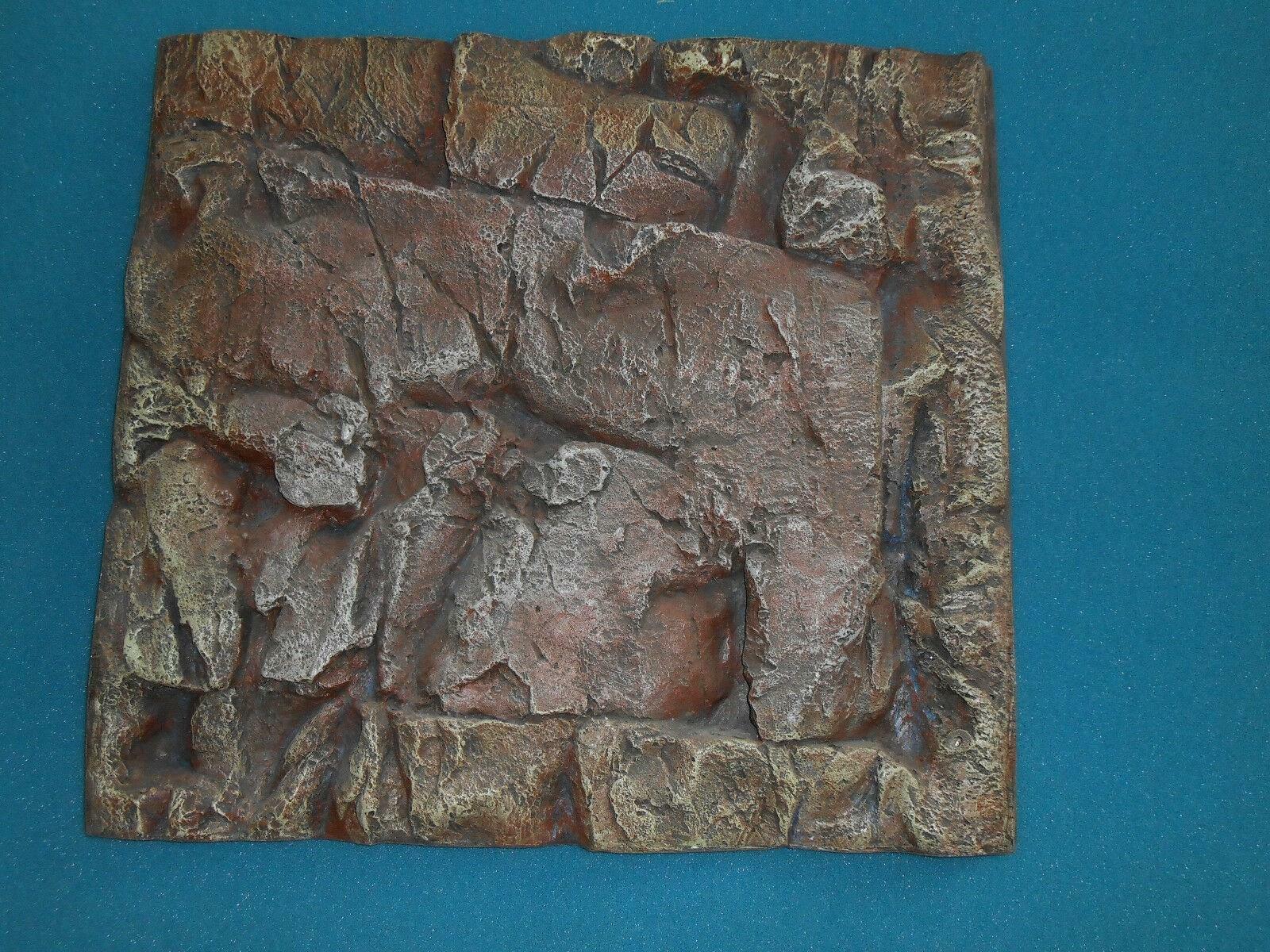 Hobby Aquarienrückwand Malawi 60x55x5 Hintergrund 3D Dekoration Aquarium w Juwel