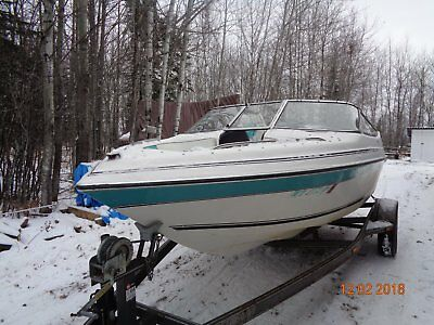 BOAT PARTS 1992 GLASSTREAM 180SE   WINDSHIELD + PARTS