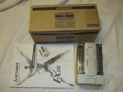 Nib Mitsubishi Melsec Plc Fx2n-32ms-eul Control Base With 16 Dc In16 Triac Out