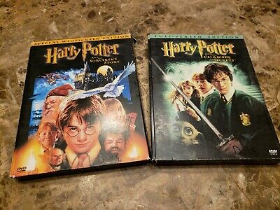 Harry Potter and the Sorcerers Stone + Chamber of Secrets