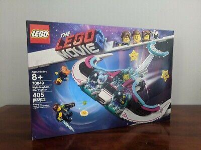Lego Movie 2 Wyld-Mayhem Star Fighter 70849 Sealed