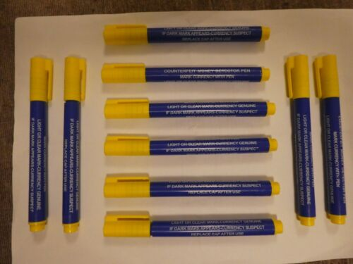 TRIXES+Money+Banknote+Detector+Pens+Checker+for+Banknotes+%2810+pens%29+NEW