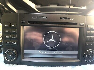 Mercedes W164 ML X164 GL Autoradio Android USB DVD Touchscreen