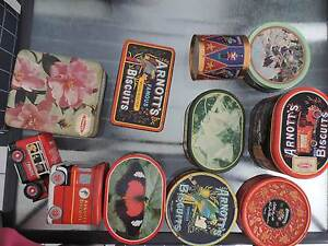 Arnotts Biscuits Tins Wyee Point Lake Macquarie Area Preview