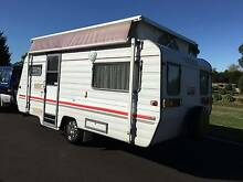 1997 Pedigree - AIR CONDITIONING - Rollout Awning - Single Beds Warragul Baw Baw Area Preview