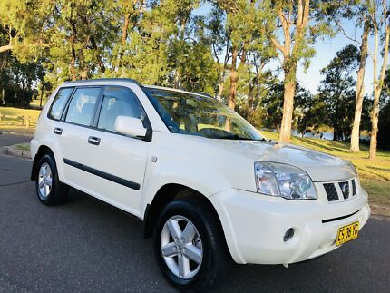 2006 Nissan X-Trail 4x4 ST-S II Sunroof 6Months Rego White Pearl Moorebank Liverpool Area Preview