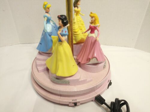 Disney Lamp  Musical Animated Princess Belle/Snow White/Aurora/Cinderella