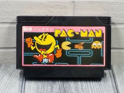 PAC-MAN NAMCO Famicom Cart TESTED NES US SELLER Nintendo