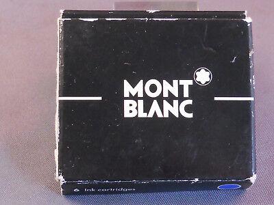 Mont Blanc Ink Cartridges--box of 6  blue](mont blanc ink cartridges)