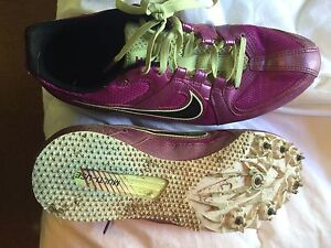 Track shoes: spikes