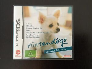 Nintendo DS NINTENDOGS Chihuaha and Friends Gymea Sutherland Area Preview