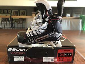 Patin enfant Bauer Vaper X500 GR 11 kids skate