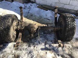 Landcruiser axles 3.70 //////SPRINGS SOLD