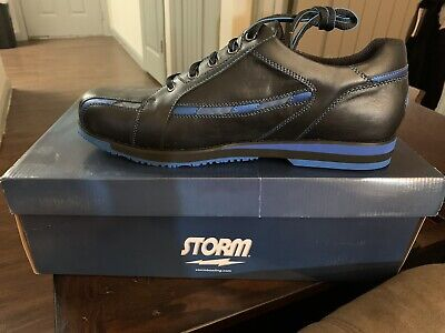 Used, New Storm SP800-18. bowling shoes Men Size 12/M. Right. Black/Blue for sale  Katy