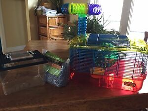 Small animal cage and travel cage