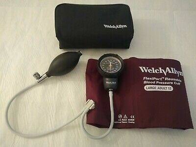 Welch Allyn Tycos Ds48a Blood Pressure Gauge With Tubing Cuff