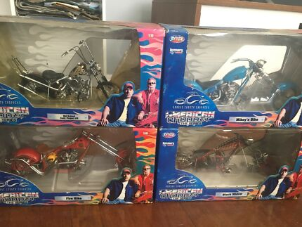 American Chopper Collectable Bikes