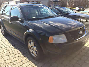 Black 2006 Ford FreeStyle AWD Limited Noir 8 mags
