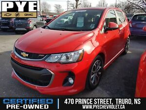 2017 Chevrolet Sonic RS !!  WIFI, HEATED SEATS, BACKUP CAMERA!