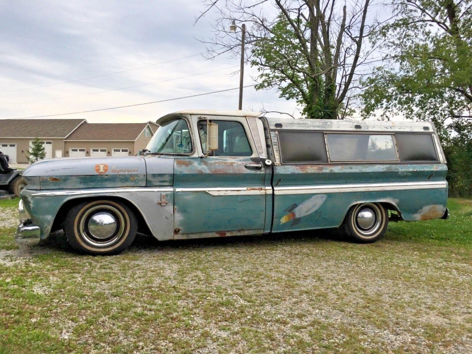 1963 Chevrolet C-10  1963 chevy fleetside c10 pickup 8ft bed patina