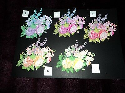 TATTERED LACE COUNTRYSIDE COLLECTION SPRING BEAUTY FLOWER DIE CUTS X 10