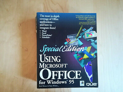Used, Using Microsoft Office for Windows 95 Special Edition by Patty Winter, Rick... for sale  Shipping to South Africa