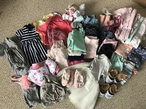 Twin girl clothes 6-12 months