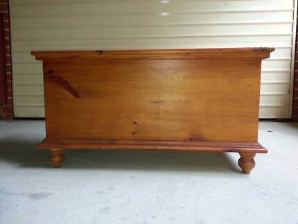 Antique storage chest/coffee table