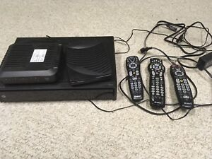 Shaw HD PVR and additional box w/3 remotes