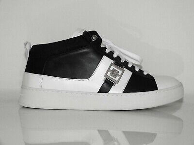 Versace Colección Zapatillas Hombre Zapatos Black/Blanco Eu: 43 (9) Nuevo /