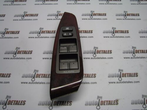 Lexus LS460 driver window switch red wood EU (LHD) 74232-50110 used 2007