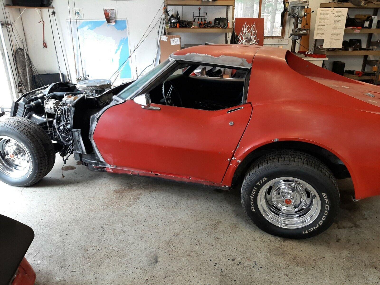 1972 Corvette project