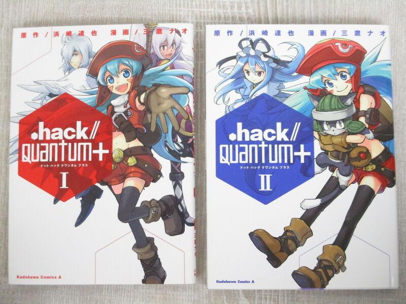 .HACK // QUANTUM PLUS + Manga Comic Complete Set 1&2 TATSUYA HAMAZAKI Book KD