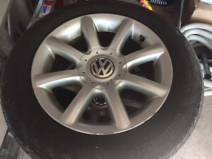VW 15' mags with Bridgestone summer tires 195 65 r15