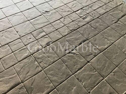 4 pc Set Concrete Stamps SM 2110/S. GlobMarble Tumbled Stone Stamped Concrete.