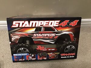 Traxxas Stampede 4x4 with added Tazer3300 brushless motor