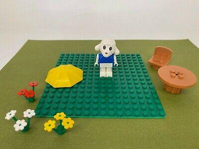 Vintage Lego - Fabuland - Set #3654 Parts / Accessories with Lamb Figure