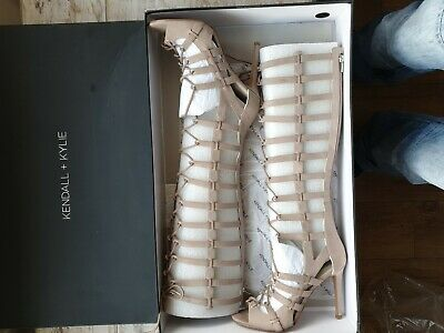kendall kylie High cage heels Uk Size 6 RRP £140