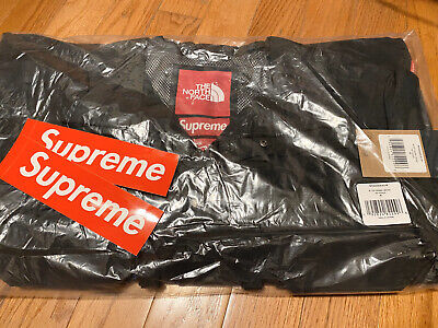 Supreme®/The North Face® Cargo Jacket M Black Brand New Free Shipping