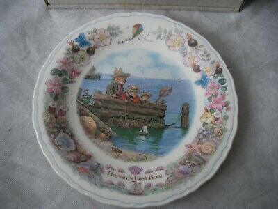Wedgwood Display plates Foxwood At Sea Collection - Harvey's First Boat for sale  Shipping to South Africa