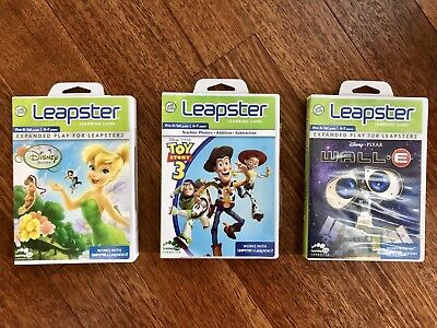 LOT of LEAP FROG LEAPSTER LEARNING GAMES (3 TOTAL) PreK-1st Grade 4-7 years old](4 Year Old Learning Games)