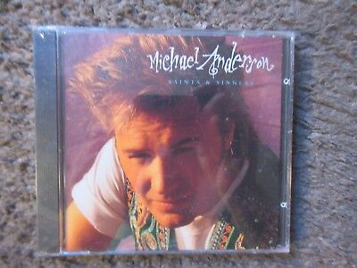 Michael Anderson  Saints   Sinners  1993 Christian Rock Oop Still Sealed New