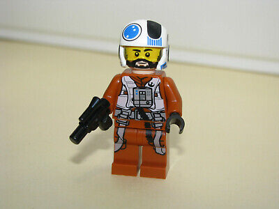 LEGO STAR WARS Pilot Snap Wexley from set #75248 Resistance A-Wing Star Fighter