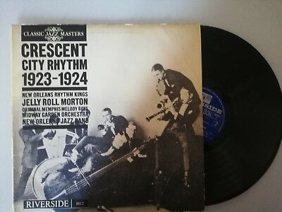 JELLY ROLL MORTON - CRESCENT CITY RHYTHM (CLASSIC JAZZ MASTERS) RM 8812...