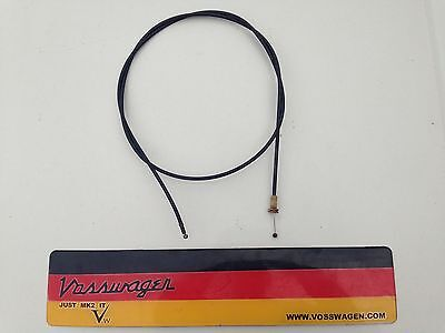 VW GOLF MK2 JETTA 8V 16V DRIVER GTD ALL MODELS GENUINE BONNET RELEASE CABLE