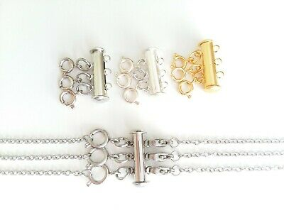 Layered Necklace Spacer Clasp | Detangles & Separates Necklaces | Magnet Clasp - Magnetic Clasp