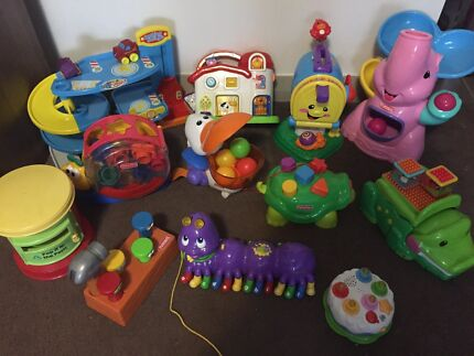Toy bundle - Fisher Price, Playskool, Leap Frog Meadowbank Ryde Area Preview