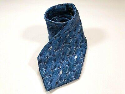 Lanvin Paris Blue Floral Silk Men's (Lanvin Paris)