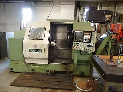 1984 Okuma Lc 30-1st Cnc Lathe With 12 Position Turret And 12 Chuck 3ph 220440