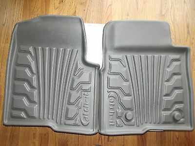 2009-2014 Ford F150 Lund Catch-It Front only Floor Mats Gray Vinyl 283030-G